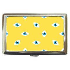 Eye Blue White Yellow Monster Sexy Image Cigarette Money Cases