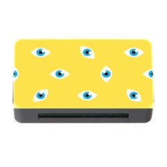 Eye Blue White Yellow Monster Sexy Image Memory Card Reader With Cf by Mariart