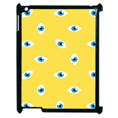 Eye Blue White Yellow Monster Sexy Image Apple Ipad 2 Case (black) by Mariart