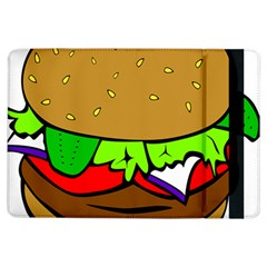 Fast Food Lunch Dinner Hamburger Cheese Vegetables Bread Ipad Air Flip