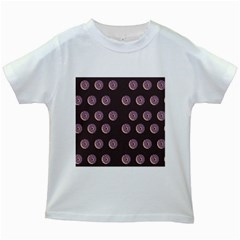 Donuts Kids White T Shirts by Mariart