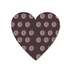 Donuts Heart Magnet by Mariart