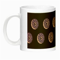 Donuts Night Luminous Mugs by Mariart