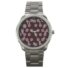 Donuts Sport Metal Watch by Mariart