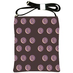 Donuts Shoulder Sling Bags by Mariart