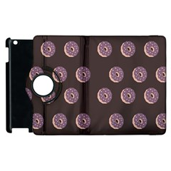 Donuts Apple Ipad 2 Flip 360 Case by Mariart