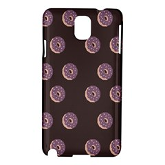 Donuts Samsung Galaxy Note 3 N9005 Hardshell Case by Mariart