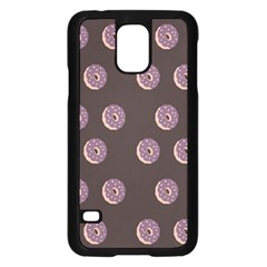 Donuts Samsung Galaxy S5 Case (black) by Mariart