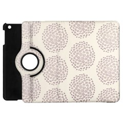 Flower Floral Star Sakura Purple Apple Ipad Mini Flip 360 Case by Mariart
