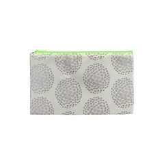Flower Floral Star Sakura Purple Cosmetic Bag (xs) by Mariart
