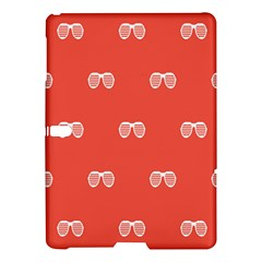 Glasses Disco Retina Red White Line Samsung Galaxy Tab S (10 5 ) Hardshell Case  by Mariart