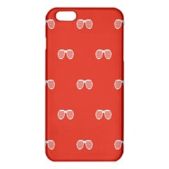 Glasses Disco Retina Red White Line Iphone 6 Plus/6s Plus Tpu Case by Mariart