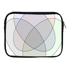 Four Way Venn Diagram Circle Apple Ipad 2/3/4 Zipper Cases by Mariart