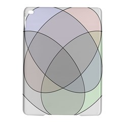 Four Way Venn Diagram Circle Ipad Air 2 Hardshell Cases by Mariart