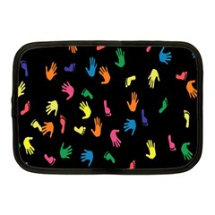 Hand And Footprints Netbook Case (medium)  by Mariart