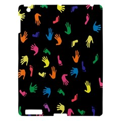 Hand And Footprints Apple Ipad 3/4 Hardshell Case by Mariart