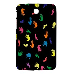 Hand And Footprints Samsung Galaxy Tab 3 (7 ) P3200 Hardshell Case  by Mariart
