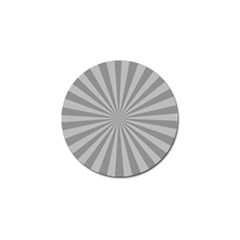 Grey Starburst Line Light Golf Ball Marker (10 Pack) by Mariart