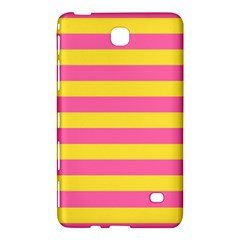 Horizontal Pink Yellow Line Samsung Galaxy Tab 4 (7 ) Hardshell Case  by Mariart