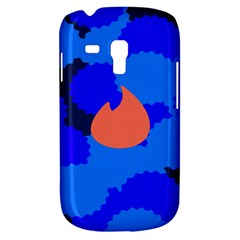 Image Orange Blue Sign Black Spot Polka Galaxy S3 Mini by Mariart