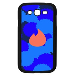 Image Orange Blue Sign Black Spot Polka Samsung Galaxy Grand Duos I9082 Case (black) by Mariart