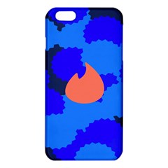 Image Orange Blue Sign Black Spot Polka Iphone 6 Plus/6s Plus Tpu Case by Mariart