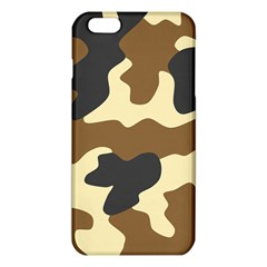 Initial Camouflage Camo Netting Brown Black Iphone 6 Plus/6s Plus Tpu Case by Mariart