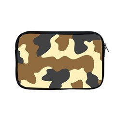 Initial Camouflage Camo Netting Brown Black Apple Macbook Pro 13  Zipper Case by Mariart