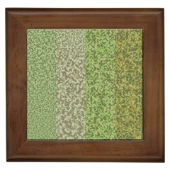 Camo Pack Initial Camouflage Framed Tiles by Mariart