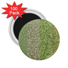 Camo Pack Initial Camouflage 2 25  Magnets (100 Pack)  by Mariart