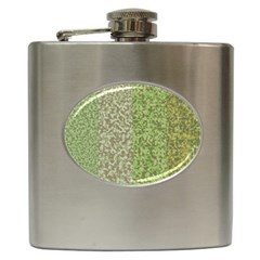 Camo Pack Initial Camouflage Hip Flask (6 Oz) by Mariart