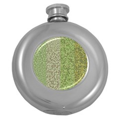 Camo Pack Initial Camouflage Round Hip Flask (5 Oz) by Mariart
