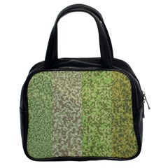 Camo Pack Initial Camouflage Classic Handbags (2 Sides) by Mariart