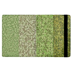 Camo Pack Initial Camouflage Apple Ipad 2 Flip Case by Mariart