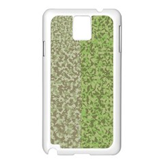 Camo Pack Initial Camouflage Samsung Galaxy Note 3 N9005 Case (white) by Mariart