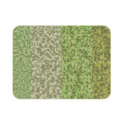 Camo Pack Initial Camouflage Double Sided Flano Blanket (mini)  by Mariart