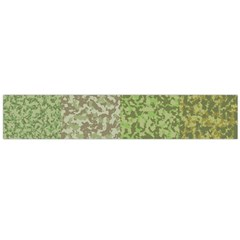 Camo Pack Initial Camouflage Flano Scarf (large) by Mariart