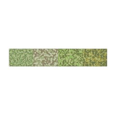 Camo Pack Initial Camouflage Flano Scarf (mini) by Mariart