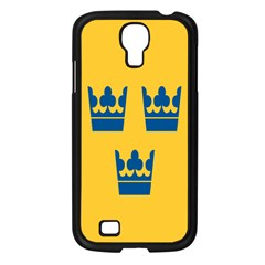 King Queen Crown Blue Yellow Samsung Galaxy S4 I9500/ I9505 Case (black) by Mariart