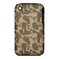 Initial Camouflage Brown Iphone 3s/3gs by Mariart