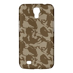 Initial Camouflage Brown Samsung Galaxy Mega 6 3  I9200 Hardshell Case by Mariart