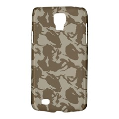 Initial Camouflage Brown Galaxy S4 Active by Mariart
