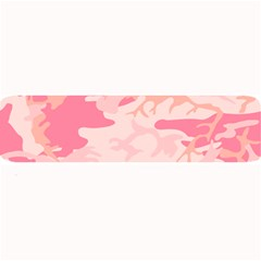 Initial Camouflage Camo Pink Large Bar Mats by Mariart
