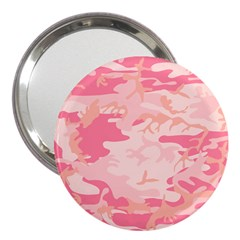 Initial Camouflage Camo Pink 3  Handbag Mirrors by Mariart