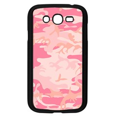 Initial Camouflage Camo Pink Samsung Galaxy Grand Duos I9082 Case (black) by Mariart