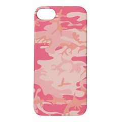 Initial Camouflage Camo Pink Apple Iphone 5s/ Se Hardshell Case by Mariart