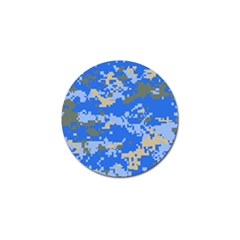 Oceanic Camouflage Blue Grey Map Golf Ball Marker (10 Pack) by Mariart