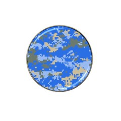Oceanic Camouflage Blue Grey Map Hat Clip Ball Marker (10 Pack) by Mariart