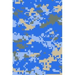 Oceanic Camouflage Blue Grey Map 5 5  X 8 5  Notebooks by Mariart