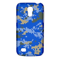 Oceanic Camouflage Blue Grey Map Galaxy S4 Mini by Mariart